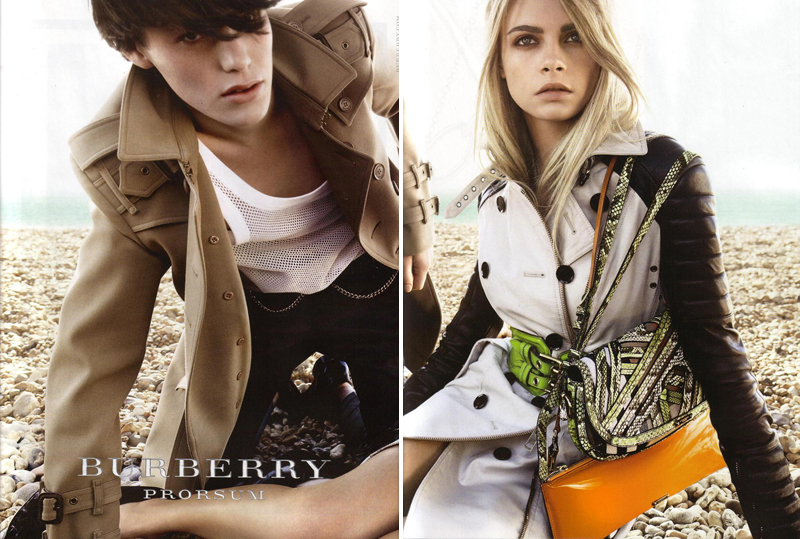 Burberry's Spring/Summer '11 Campaign