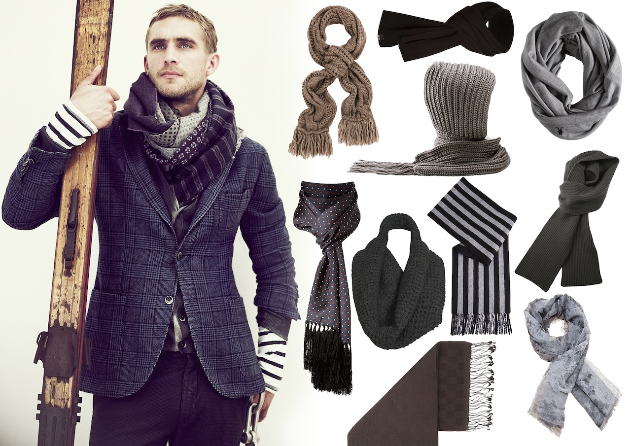 Men's Scarves Must Haves