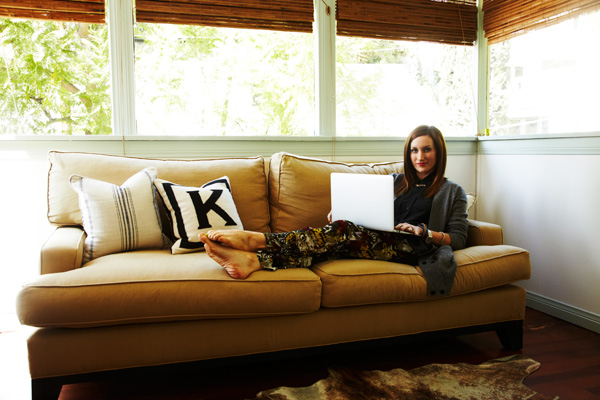 Katherine Powers' stylish home