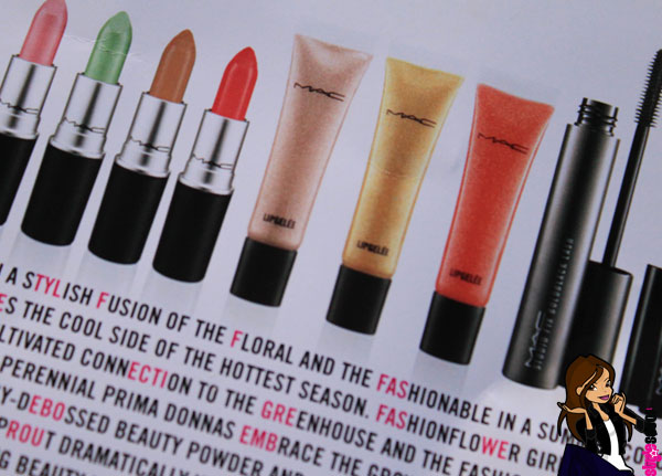 Blooming Beautiful! The MAC Fashion Flower Collection is out now