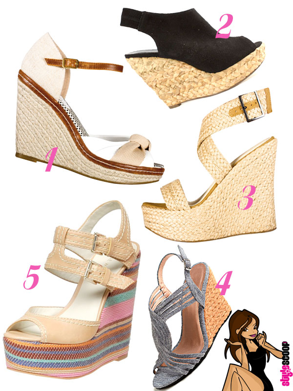 Summer Shoes Special Woven Wedges Stylescoop South