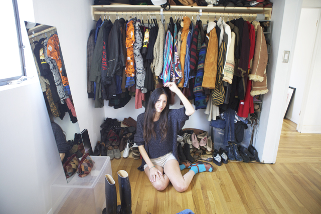 The Fearless Fashionista presents Sunny Walkers closet
