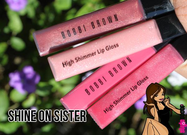 Shine on with Bobbi Brown High Shimmer Lip Gloss