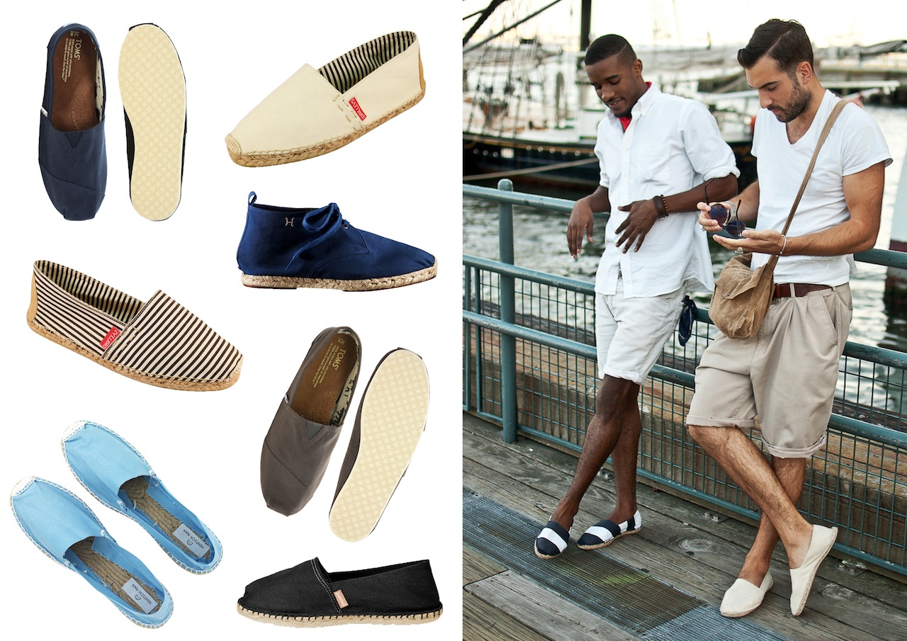 "Summer Shoe Trend ""Espadrilles"" (For the guys)"