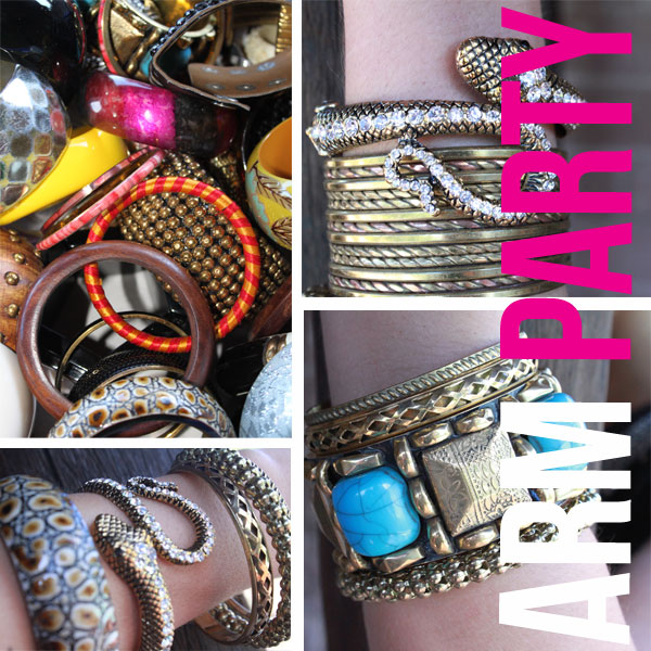 TREND REPORT: Stacking Bangles, Creating an Arm Party