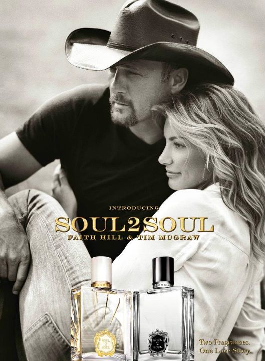 Faith Hill and Tim McGraw to Release Fragrances