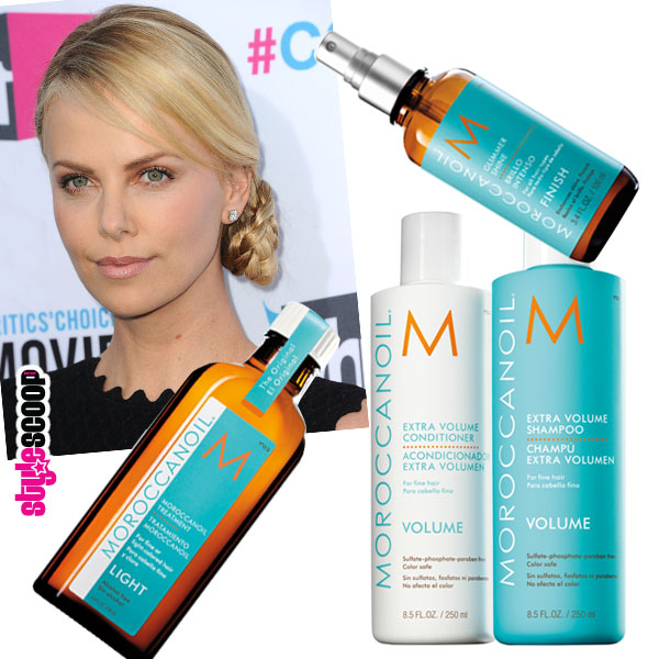 The Inside Scoop on Charlize's Critics Choice Hair