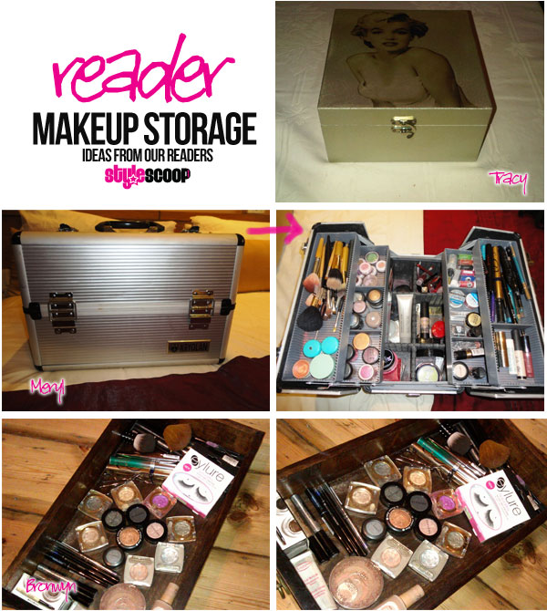 A Peek Inside our Readers' Makeup Storage