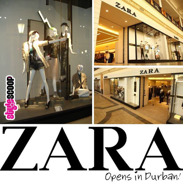 ZARA Durban Launch & A Sneak At Winter