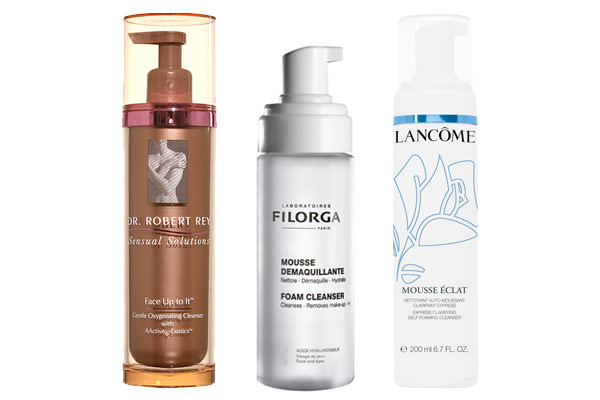 Three Fabulous Foaming Cleansers