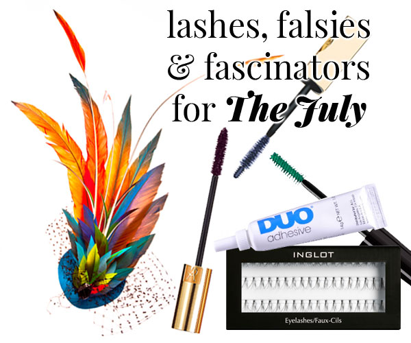 Lashes, Falsies & Fascinators for the Durban July