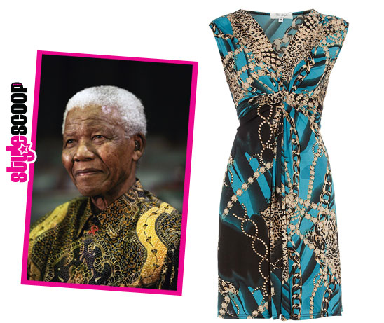 Trend Alert: Scarf Prints and A Tribute to Madiba