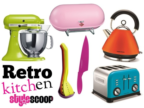 The Retro Kitchen. Fun Stuff to Brighten up Your Kitchen
