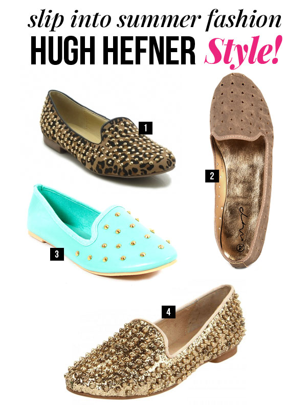 Hugh Hefner Style – The Slipper