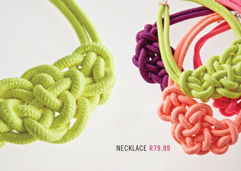 Get Knotted With Mr P's New Neon Rope Accessories Range