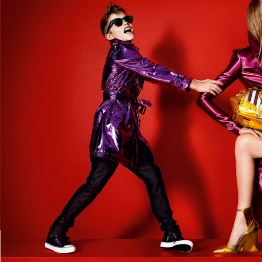 Romeo Beckham Stars in Burberry's Spring/ Summer 2013 Campaign