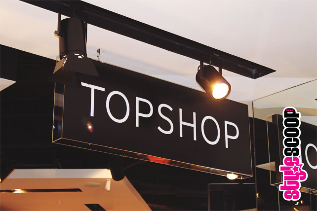 Topshop Opens at Gateway Durban