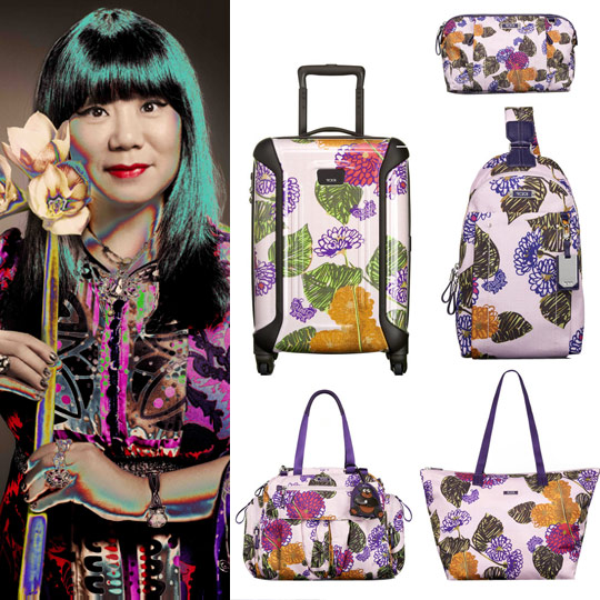 From Runway to Jetway! TUMI teams up with Anna Sui