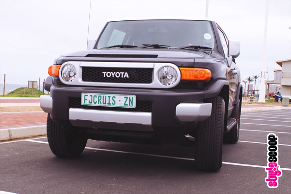 Cruising Around in the Toyota FJ Cruiser