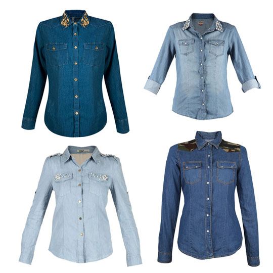 Wild Thing! The Denim Shirt Has A Wild Side