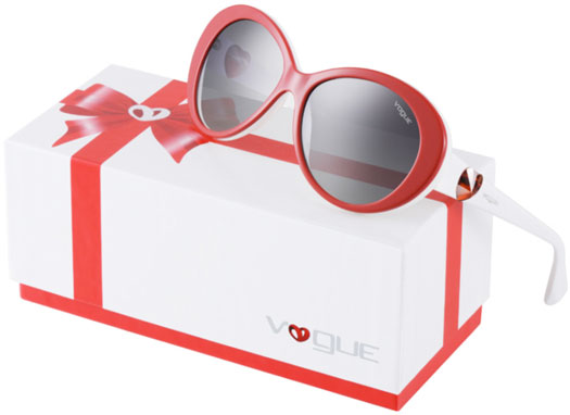 "Hearts In Their Eyes! The New Vogue ""Gift of Love"" Sunnies"