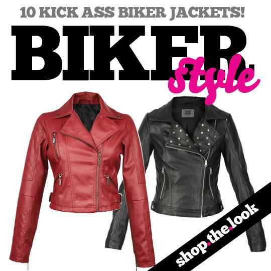 TREND ALERT: The Biker Jacket