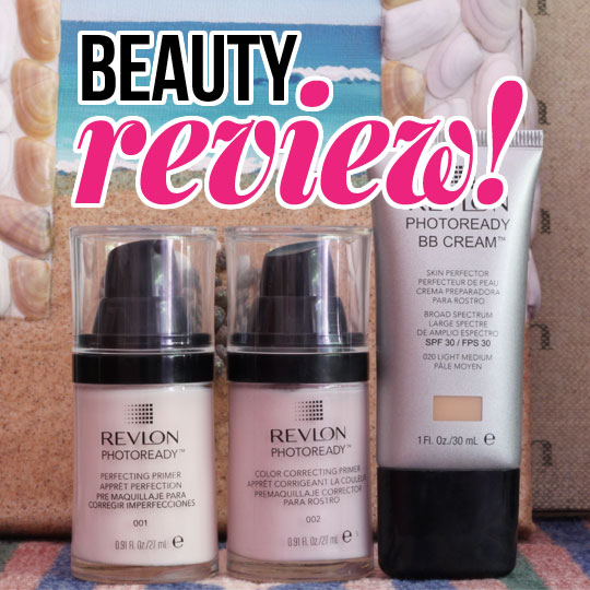 Get Ready For Your Closeup! We Review the New Revlon Photoready Primers & BB Cream