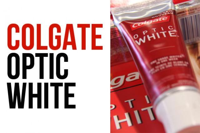 Colgate Optic White #WearASmile