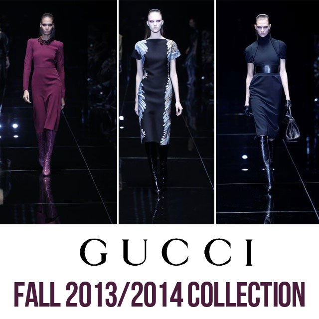 Dangerous Femininity – GUCCI Women's 2013-2014 Winter Collection