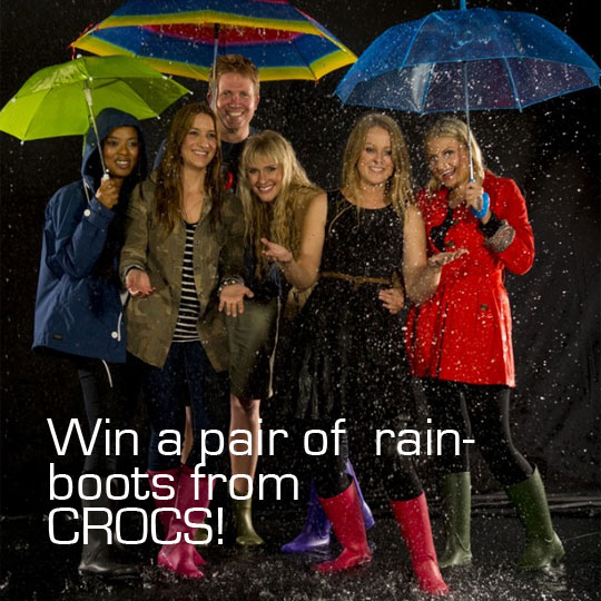Wanna Win A Pair of Crocs Wellies?