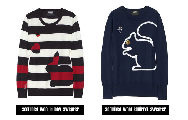 Markus_Lupfer-collection-sweaters-bunny-squirrel