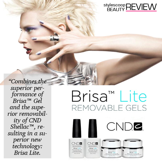 We Review Brisa Lite - The New, Superior Gel System | StyleScoop ...