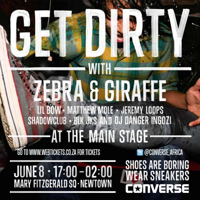 Durban! GetDirty with Converse & Win!