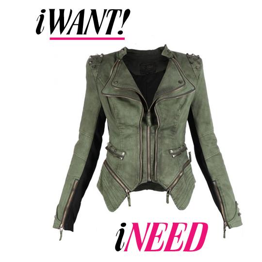 I want, I need…