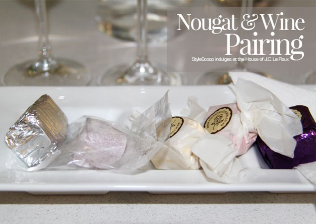 jc-le-roux-nougat-and-wine-pairing-nougat