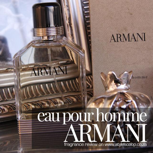 ARMANI Eau Pour Homme – Fragrance Review