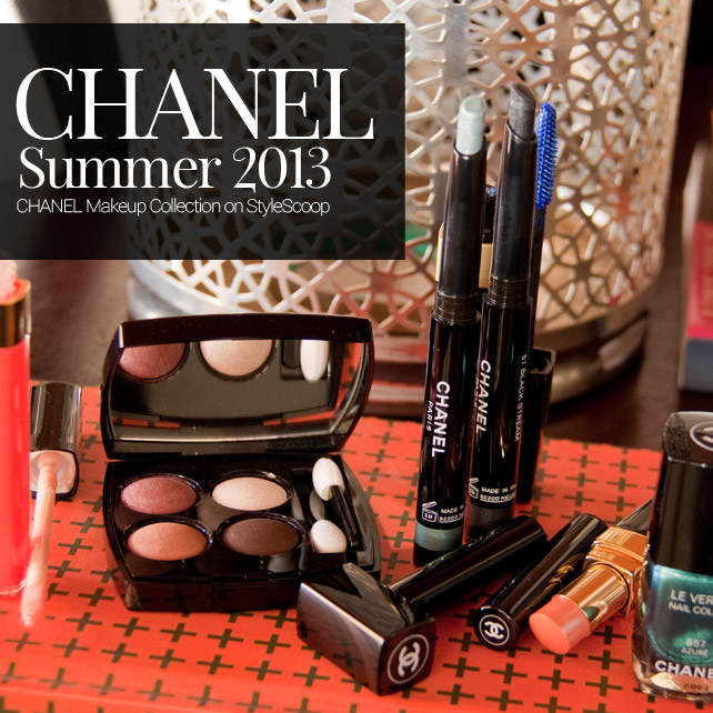 A Look at the Chanel 2013 Summer Makeup Collection