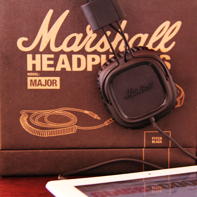 Sound & Style! Marshall Major Headphones