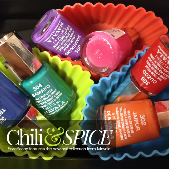 Chili & Spice! Hot New Colours From Mavala