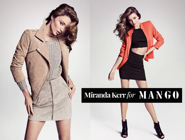 Miranda Kerr for MANGO - Spring Summer 2013
