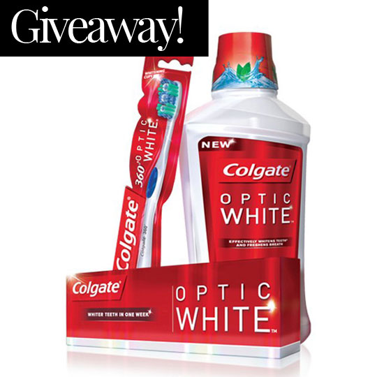 Giveaway! 5 Optic White Hampers Up For Grabs #WearASmile