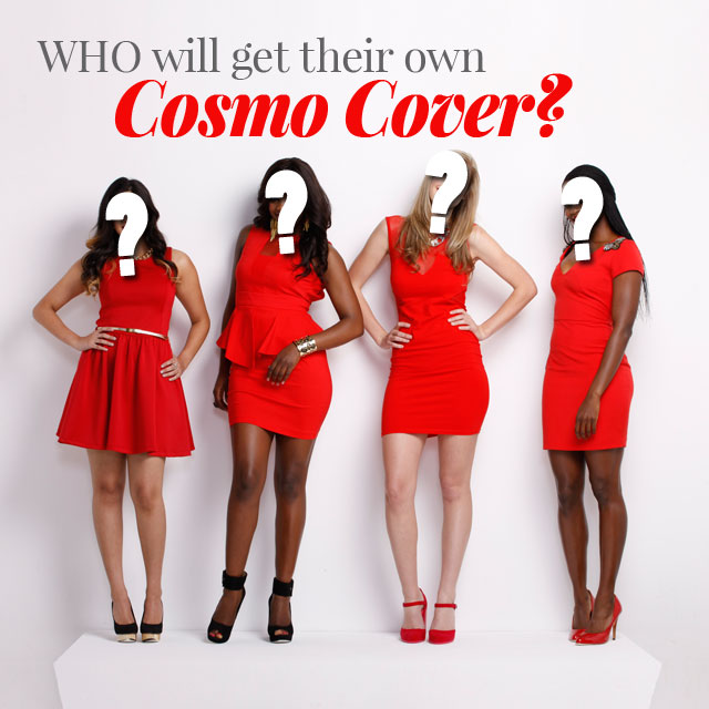 Who Will #WearASmile on The Cover of Cosmo? Top Four Finalists Revealed!