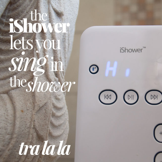 Listen to Music In The Shower! iShower Review