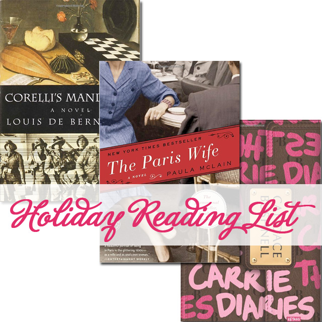 Holiday Reading List