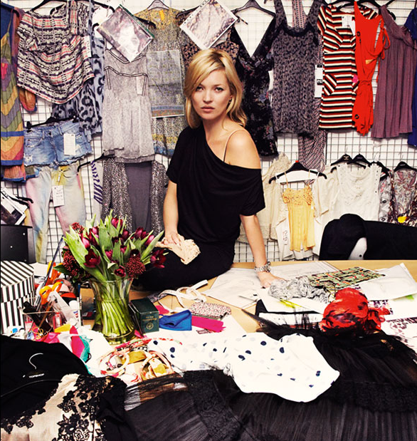 Kate Moss Returns to TopShop