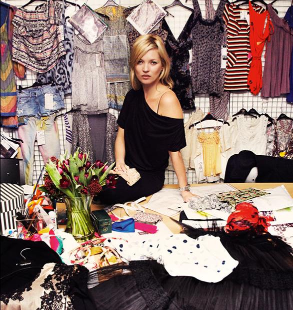 Kate Moss Returns to TopShop