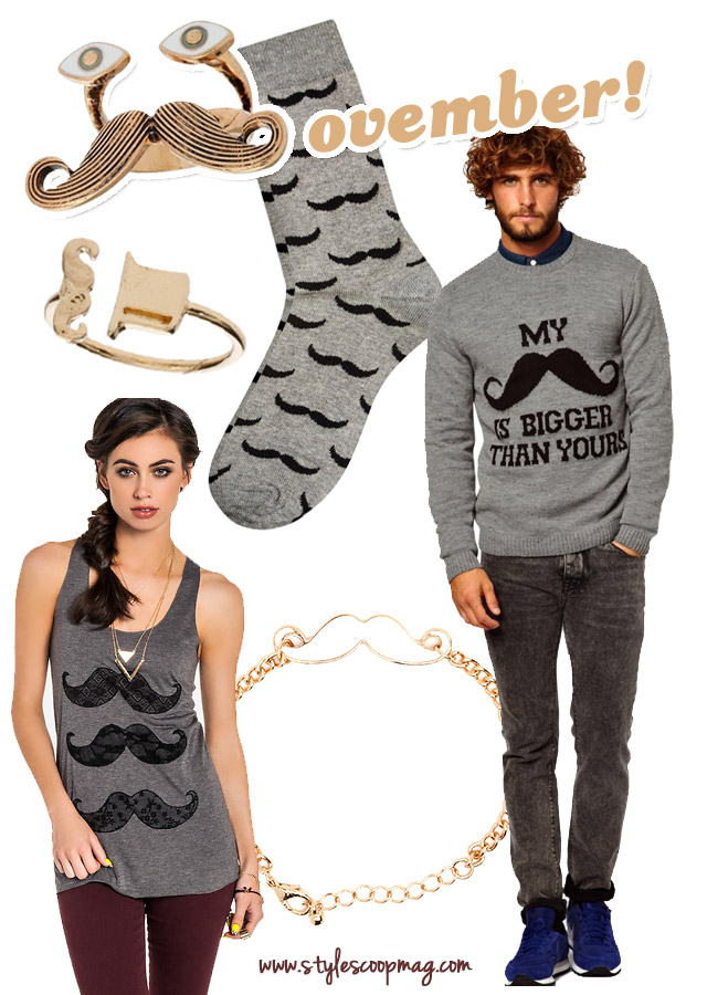 6 Fashionable Ways To Support Movember