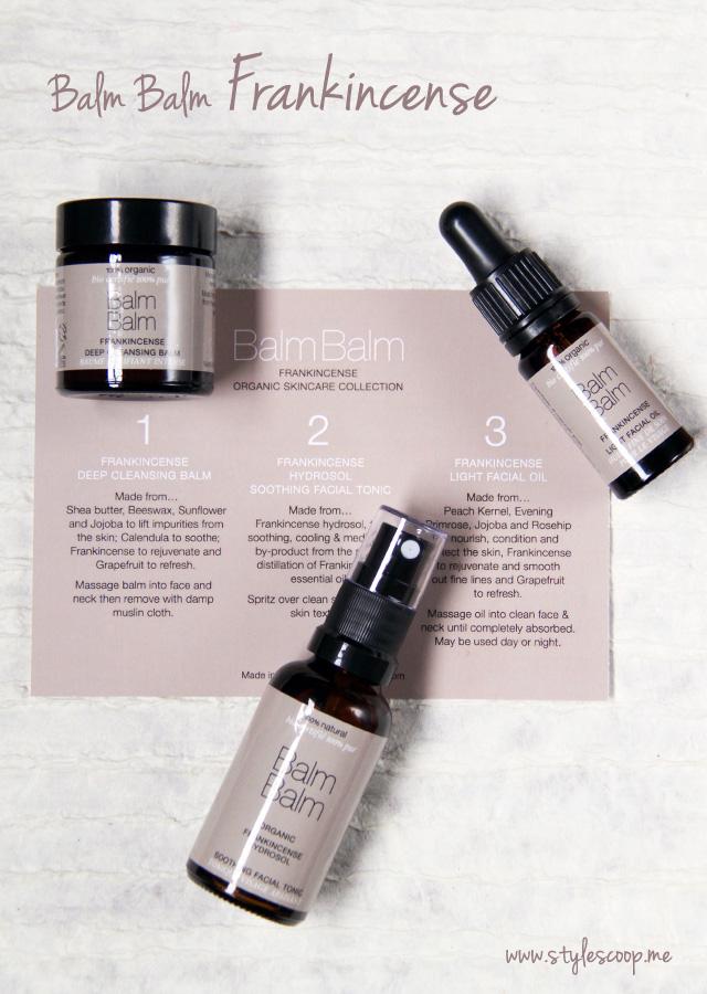 New Balm Balm Frankincense – The Fabulous Organic Skincare Range!