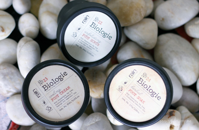 stylescoop-happy-feet-rain-biologie-foot-cream-foot-soak-foot-scrub