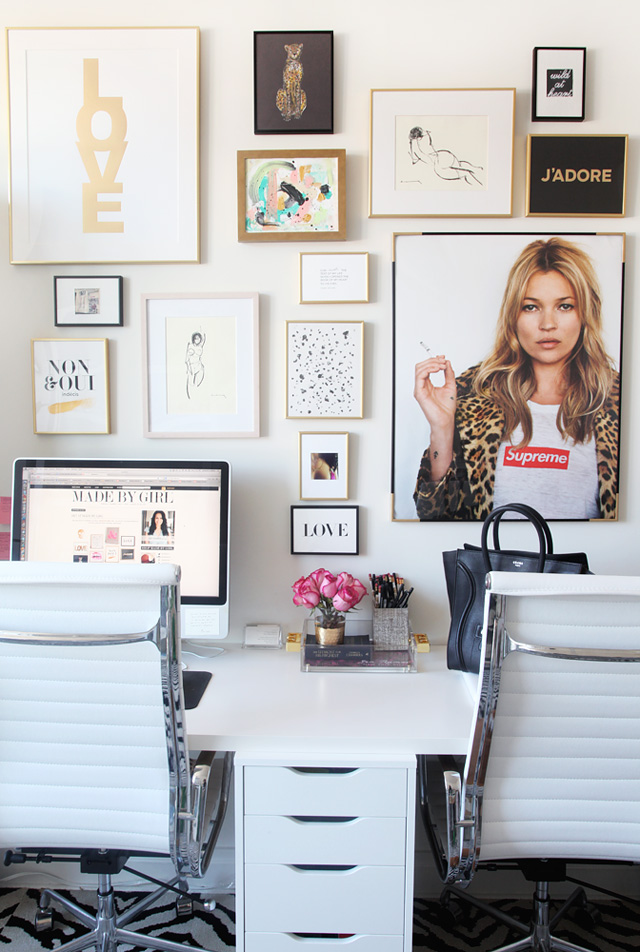 StyleScoop Office Gallery {Inspiration} By MadeByGirl